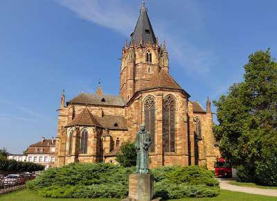 Abbatiale saint pierre et saint paul de wissembourg route romane d alsace guide du tourisme