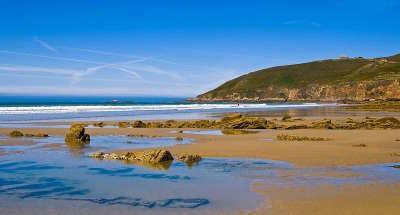 Anse saint martin route des caps cotentin routes touristiques dans la manche guide du tourisme normandie