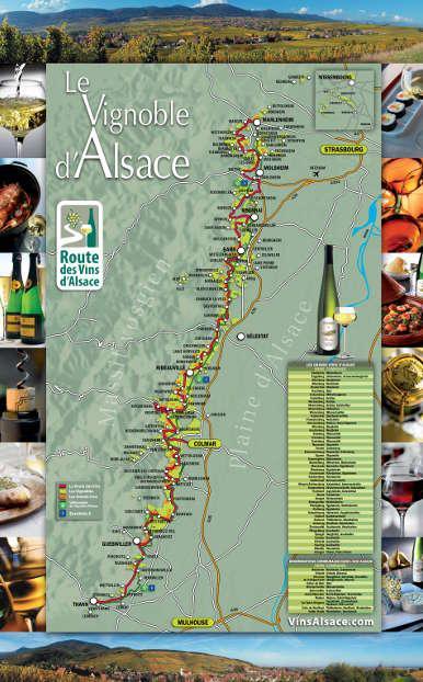 Carte route des vins et velo route fr
