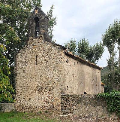 Chapelle de saint martin de fenollar route en terre catalane guide du tourisme des pyrenees orientales