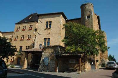Charnay route des vins du beaujolais rhone
