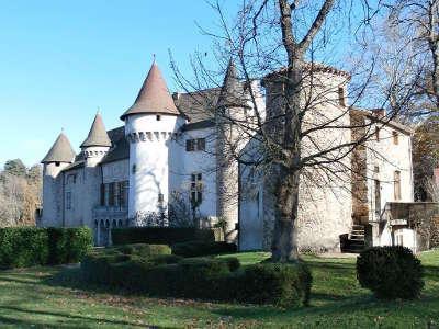 Chateau d aulteribe route historique des chateau d auvergne guide du tourisme du haute loire