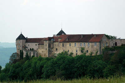 Chateau de belvoir route des monts et merveilles de franche comte