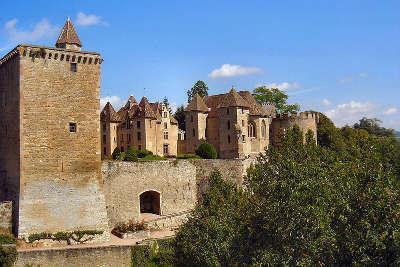 Chateau de couches route historique des ducs de bourgogne
