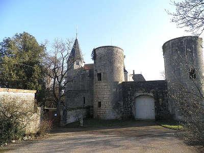 Chateau de germolles route historique des ducs de bourgogne