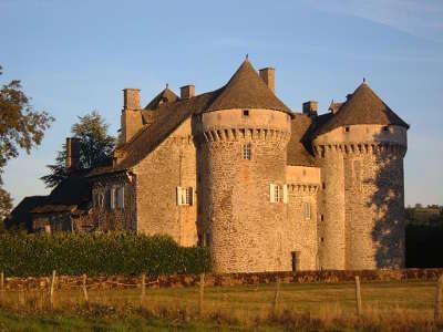 Chateau de la vigne route historique des chateau d auvergne guide du tourisme du cantal
