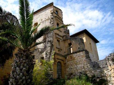 Chateau de magrin musee du pastel exterieur facade route du pastel au pays de cocagne