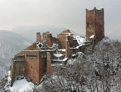 Chateau de saint ulrich route des vins d alsace guide du tourisme de l alsace