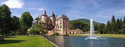 Chateau de vizille le parc et le canal route napoleon guide du tourisme isere