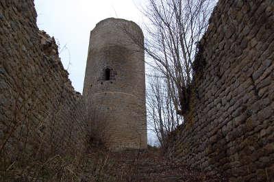 Chateau du pflixbourg route des 5 chateaux guide du tourisme du haut rhin alsace