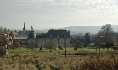 Chateau etoges route touristique du champagne cote des bar