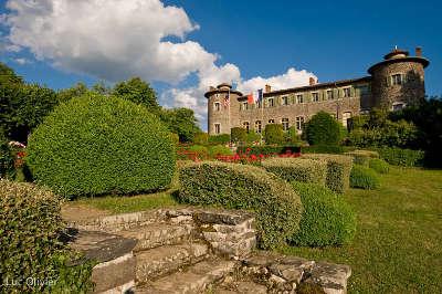 Chateaux de chavaniac jardins remarquables routes touristiques de haute loire guide touristique auvergne