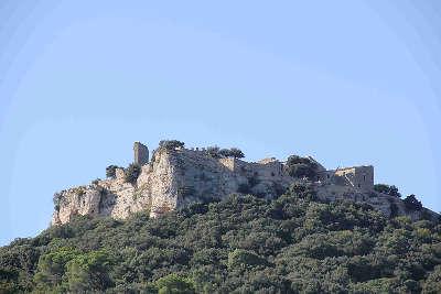 Chusclan chateau de gicon route des vins de pont esprit a saint victor guide du tourisme du gard