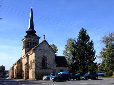 Eglise loye sur arnon route jacques c ur guide du tourisme du centre val de loire