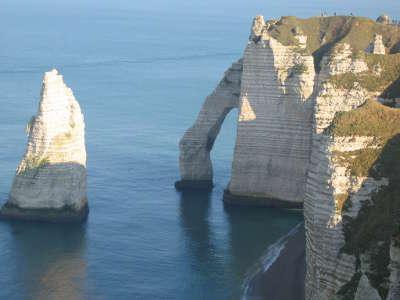 Etretat route touristique en normandie