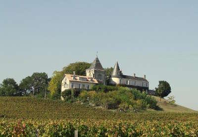 Fronsac chateau au lieu dit richelieu route du patrimoine route des vins de bordeaux guide du tourisme de la gironde aquitaine