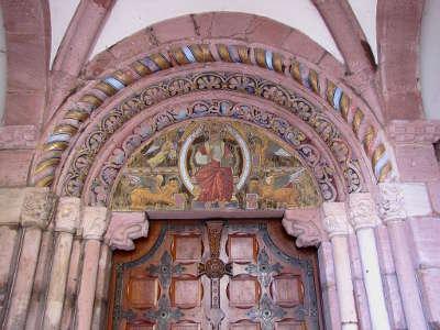 L eglise sainte foy a selestat route romane d alsace guide touristique