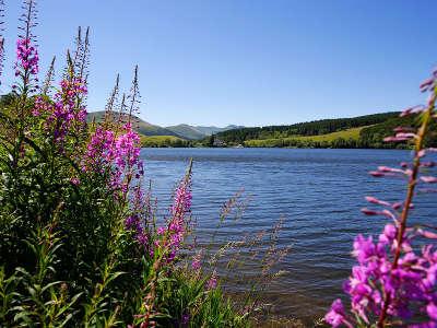 Lac de guery route des lacs d auvergne guide touristique du puy de dome