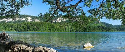 Lac ilay route des lacs jura franche comte