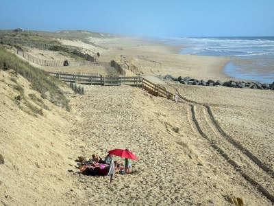 Lacanau la plage routes touristiques en gironde guide du tourisme nouvelle aquitaine