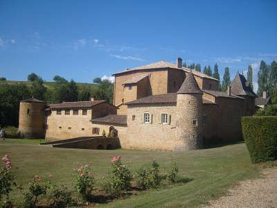 Lacenas route des vins du beaujolais rhone