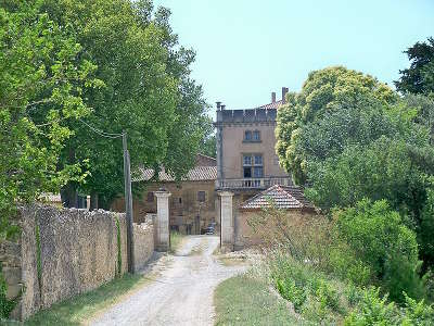 Lagarde pareol chateau fonsalette route des vins d orange a vaison la romaine