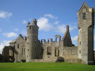 Le chateau de gratot la Manche en Normandie guide touristique
