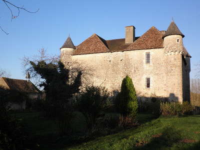 Le chateau de pruniers a pindray route des abbayes et monuments du haut poitou guide du tourisme de la vienne