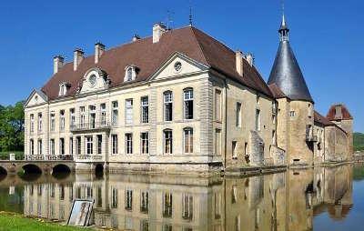 Le chateau de sully route historique des ducs de bourgogne