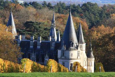 Le chateau du nozet a pouilly sur loire route des vignobles de pouilly