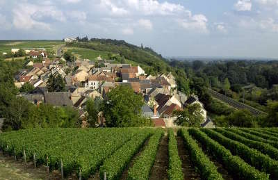 Le village des loges route des vignobles de pouilly