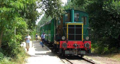 Marqueze le train de l ecomusee de la grande lande route touristique des landes guide du tourisme nouvelle aquitaine