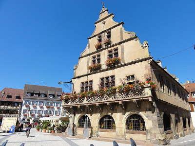 Molsheim metzig ancien siege de corporation des bouchers route des vosges centrales guide du tourisme du bas rhin alsace