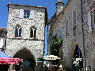 Monflanquin la maison du prince noir plus beaux villages de france routes touristiques lot et garonne guide du tourisme nouvelle aquitaine