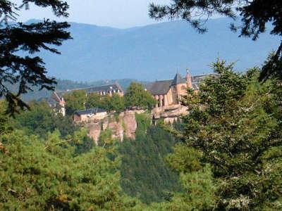 Mont saint odile route des vins d alsace guide du tourisme de l alsace