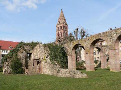 Munster ruines de l abbaye guide du tourisme du haut rhin alsace