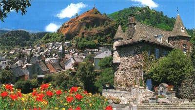 Murat route des plus beaux villages cantaliens routes touristiques du cantal guide du tourisma auvergne
