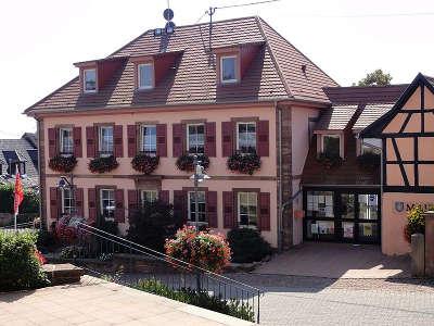 Nordheim mairie ancien presbytere route des vins d alsace guide du tourisme de l alsace