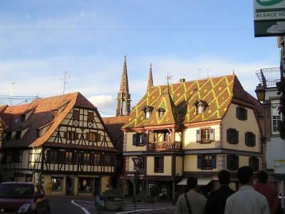 Obernai tourisme bas rhin alsace