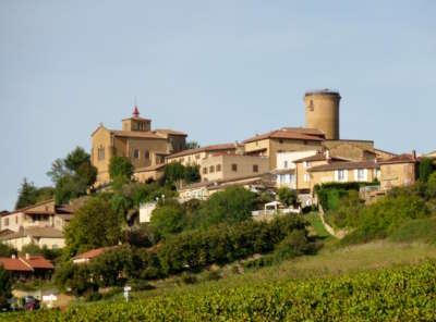 Oingt route des vins du beaujolais rhone