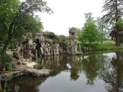 Parc de majolan les grottes jardin remarquable routes touristiques en gironde guide du tourisme nouvelle aquitaine