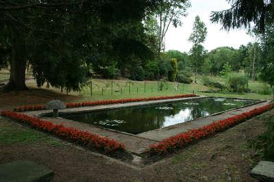 Parc du chateau de chavaniac jardins remarquables routes touristiques de haute loire guide touristique auvergne