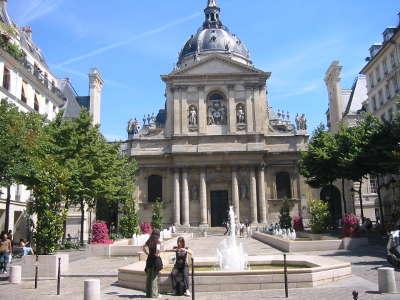 Paris la sorbonne parcours touristique en ile de france