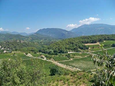 Puymeras les vignobles route des vins d orange a vaison la romaine