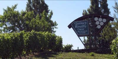 Route des vins de menetou salon quincy reuilly