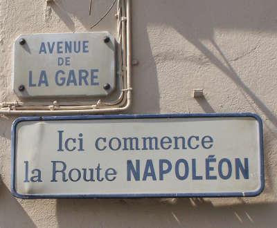 Route napoleon circuit touristique alpes maritime