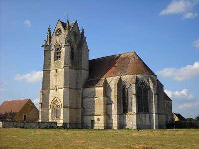 Saint cyr la rosiere l eglise sainte gauburge route des manoir du perche guide du tourisme de l orne normandie