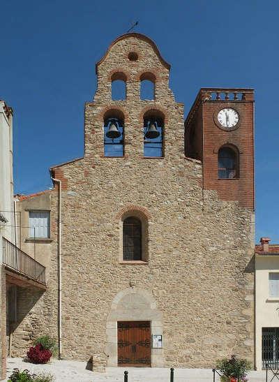 Sorede l eglise saint assiscle et sainte victoire route des cols des pyrenees guide touristique des pyrenees orientales