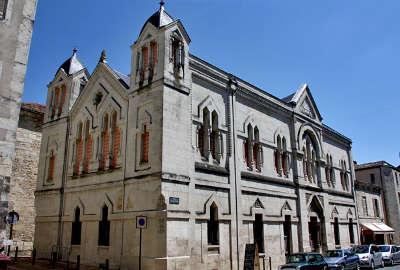 Temple franc macon perigueux rue st front les routes touristiques de dordogne guide du tourisme de nouvelle aquitaine