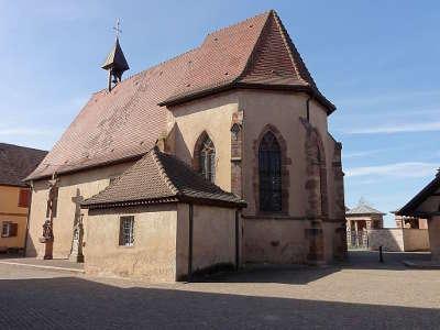Valff chapelle sainte marguerite route de la choucroute guide du tourisme du bas rhin alsace